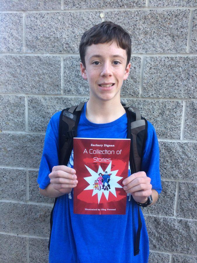Zachary Dignan(Fr.) and his short story collection.
