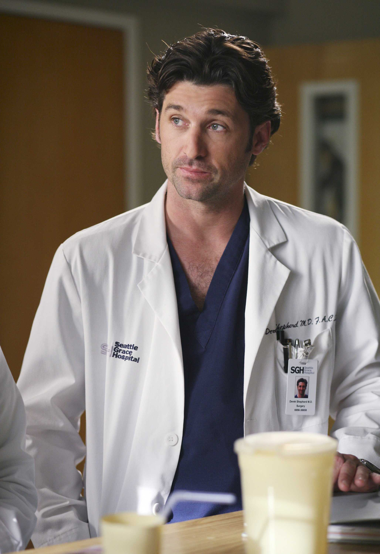 Patrick Dempsey plays Derek Shepherd (McDreamy) on Grey's Anatomy.