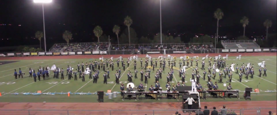 UHS Marching Band captures second consecutive win at Capistrano Valley Tournament