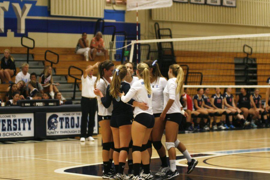 Girls+Volleyball+falls+to+Beckman+0-3