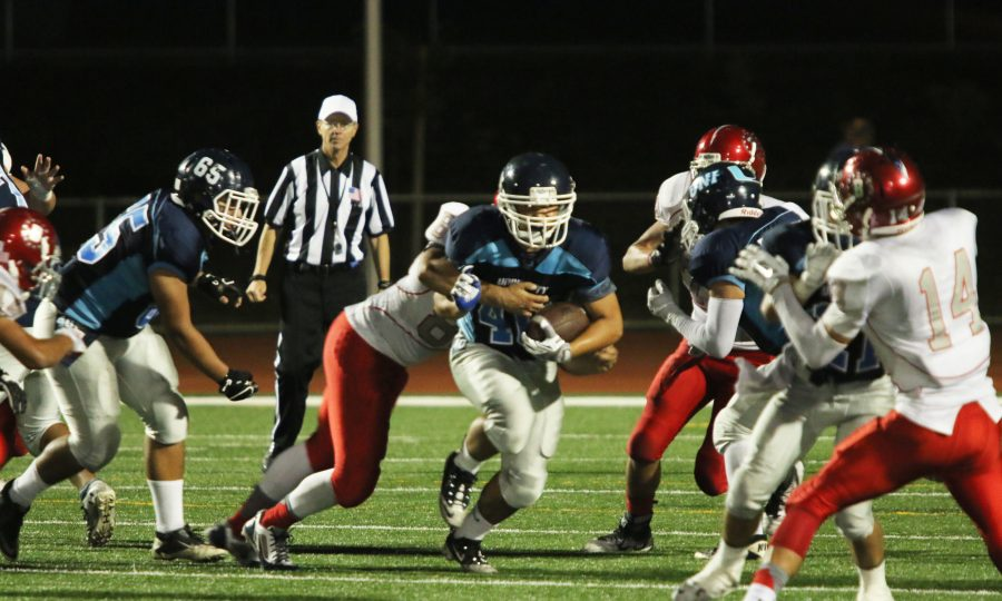 Trojans fall 10-40 to the Beckman Patriots in the Homecoming Football game