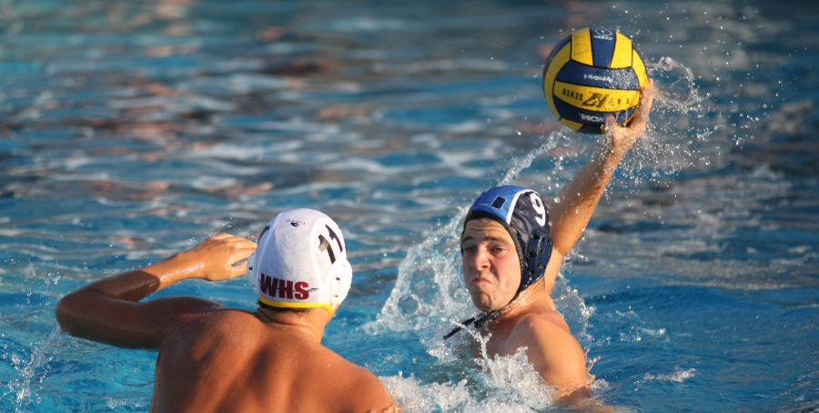 Boys+Water+Polo+plays+a+close+game%2C+loses+to+Woodbridge+4-6