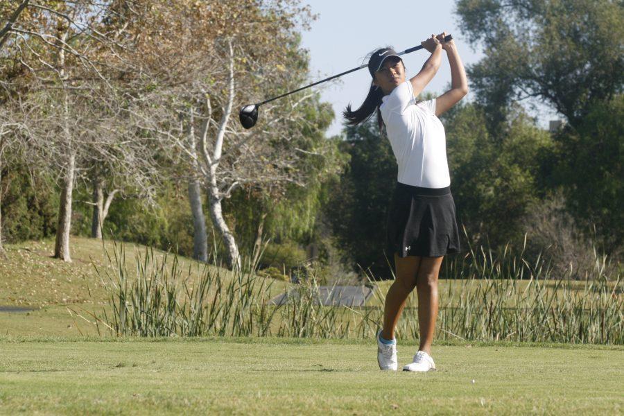 Girls Golf defeats rival Corona del Mar 230-209