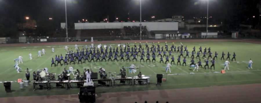 UHS+Marching+Band+places+1st+at+Los+Altos+Competition%2C+completes+undefeated+season