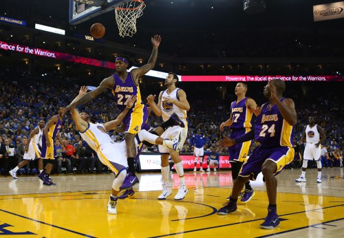 LA Lakers at Golden State