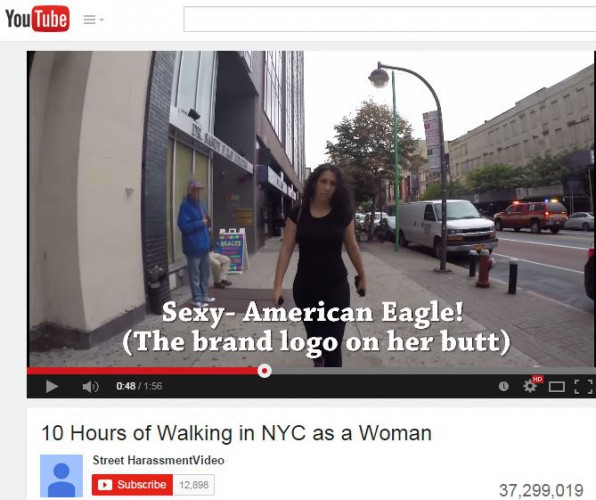 Gender equality far from purr-fect: Youtube's catcalling video