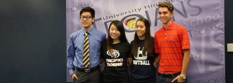 UHS+seniors+sign+the+NLI+to+play+college+sports+for+athletic+scholarship