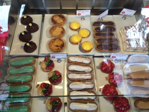 Pastries offered at Moulin. (Elise Rio)