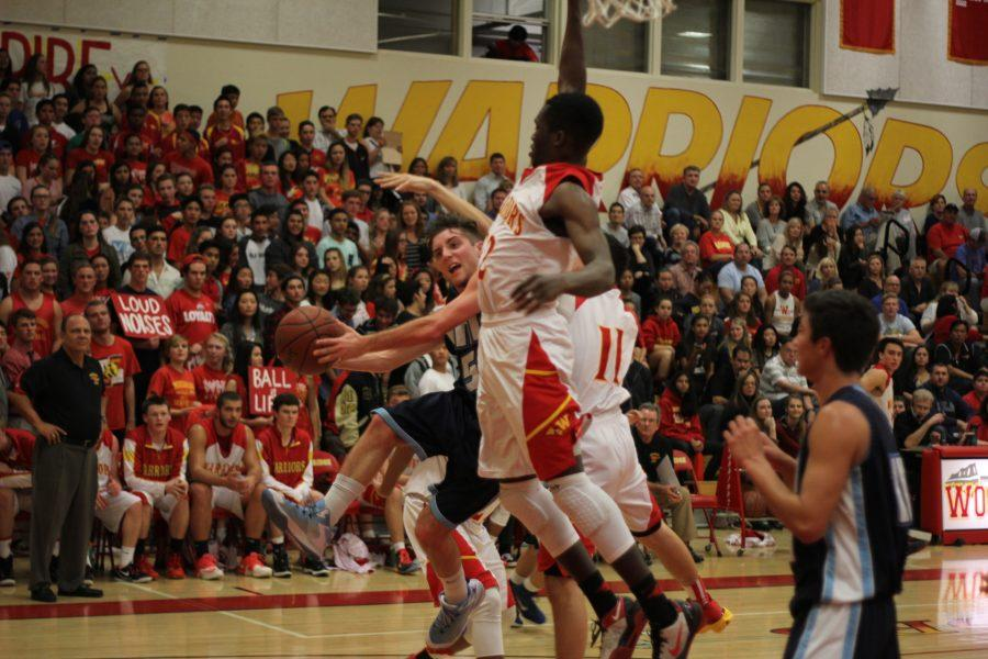 Boys+basketball+falls+to+Woodbridge+60-63+in+tight+league+opener
