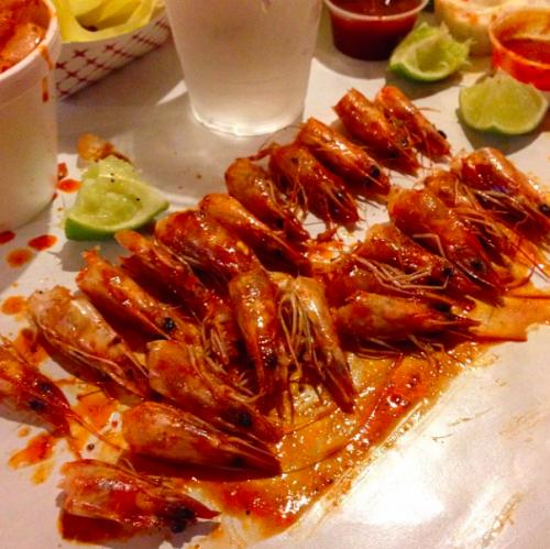 Shrimp at Kickin' Crab (Marcella Decoud)