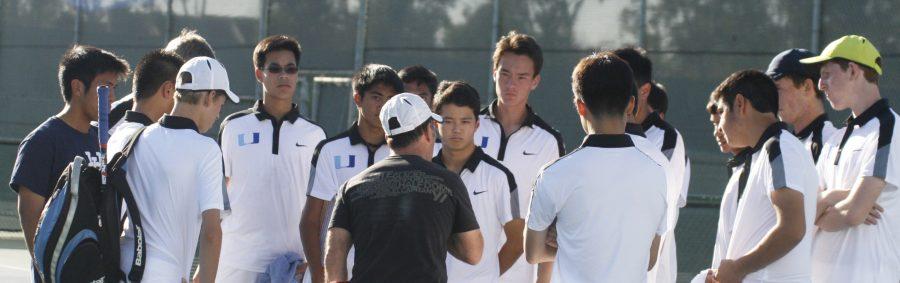 Boys Tennis falls to Harvard-Westlake, defeats Santa Margarita and Peninsula