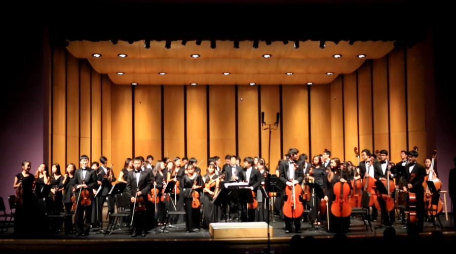 UHS Symphonic Orchestra performs at IUSD orchestra festival