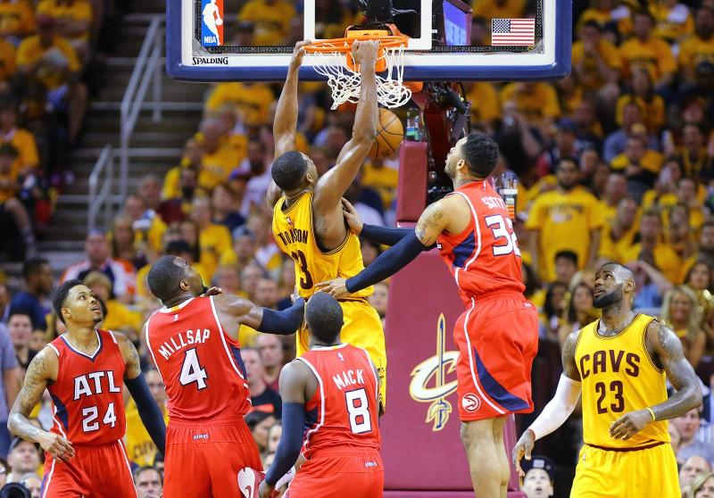 Atlanta+Hawks+at+Cleveland+Cavaliers