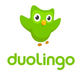 The duolingo app logo (Wikipedia)