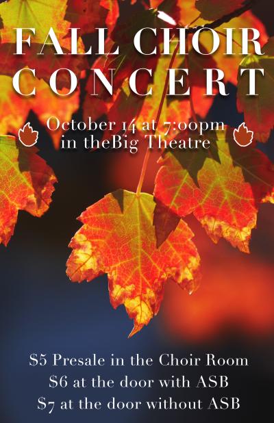 Fall Choir Concert Preview