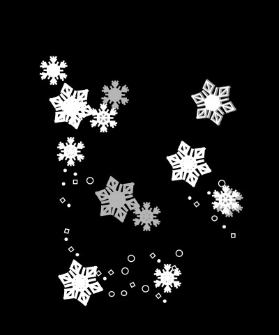 300 dpi illustration of snowflakes. MCT 1995 krtnational national; krtworld world; krt; krtcampus campus; mctillustration; krtwinter winter; krt mct; snow; snowflakes; 1995; krt1995