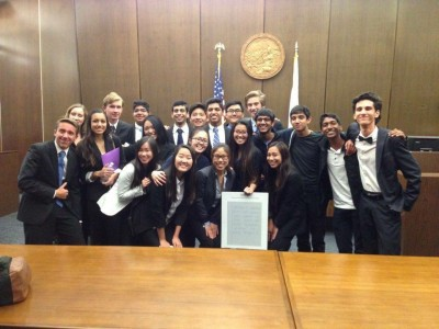 Mock Trial makes history by reaching county finals