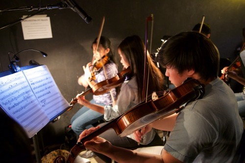 Pit orchestra musicians invest countless hours in perfecting musical accompaniment for The Pajama Game. (A. Novakovic)