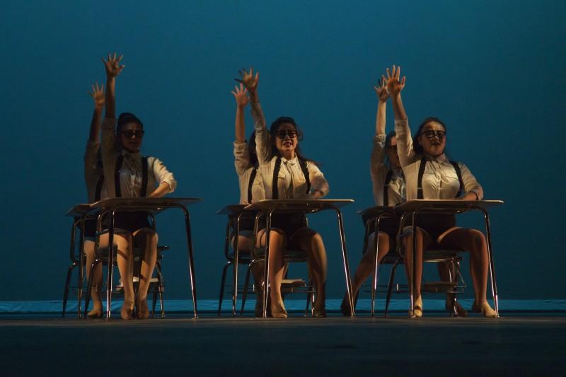 Sunny Hills High School performed