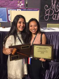 UHS JSA members win Chapter and Statesperson of the Year awards