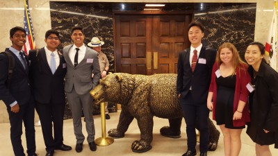 Student advocates go to Sacramento