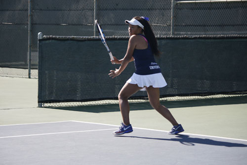 Girls Tennis preseason streak cut short by Campbell Hall