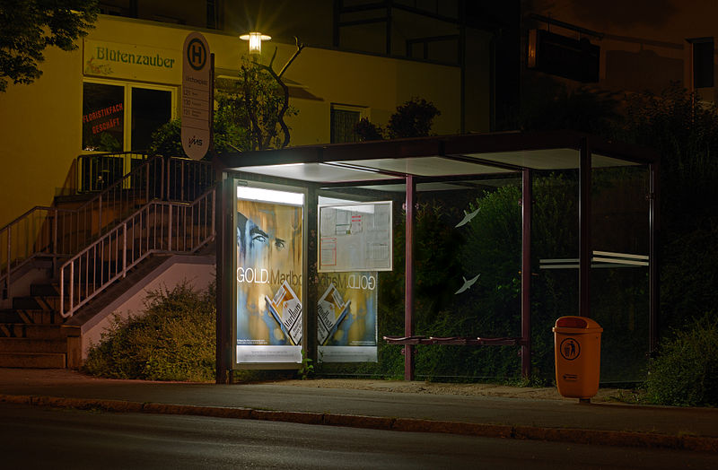 Bus Stop: a dialogue