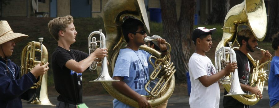 And+the+Trojans+come+marching+in%3A+a+new+season+begins+for+Marching+Band+and+Color+Guard