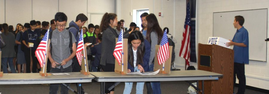 Student Model Election parallels state and local electoral trends, fails to match presidential results