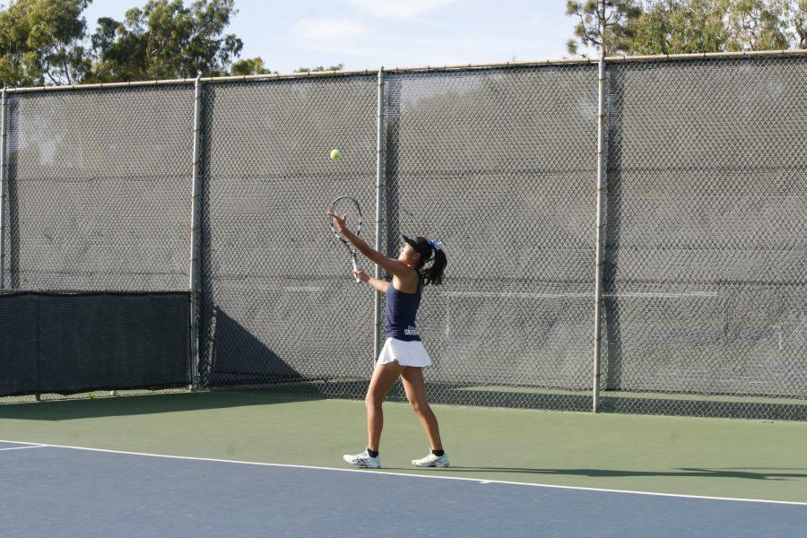 Girls Tennis triumphs over Laguna Beach in first CIF match