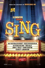 Illumination presents a new animated comedy, Sing (Google).