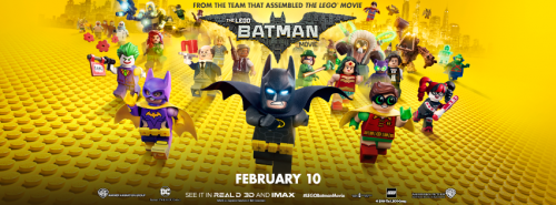 The official panoramic poster for The Lego Batman Movie. (Warner Bros/Lego Systems)