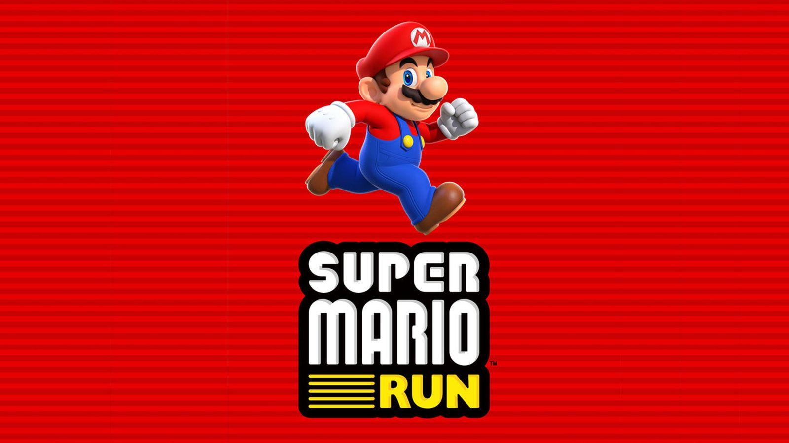 The official cover poster for Super Mario Run. (Forbes/Nintendo)