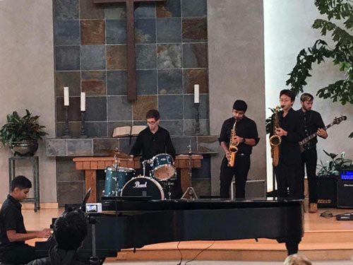 Monks of Funk: a new jazz band from UHS