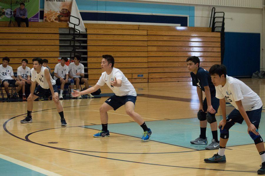 Boys Varsity Volleyball loses to league contender to Beckman 3-1