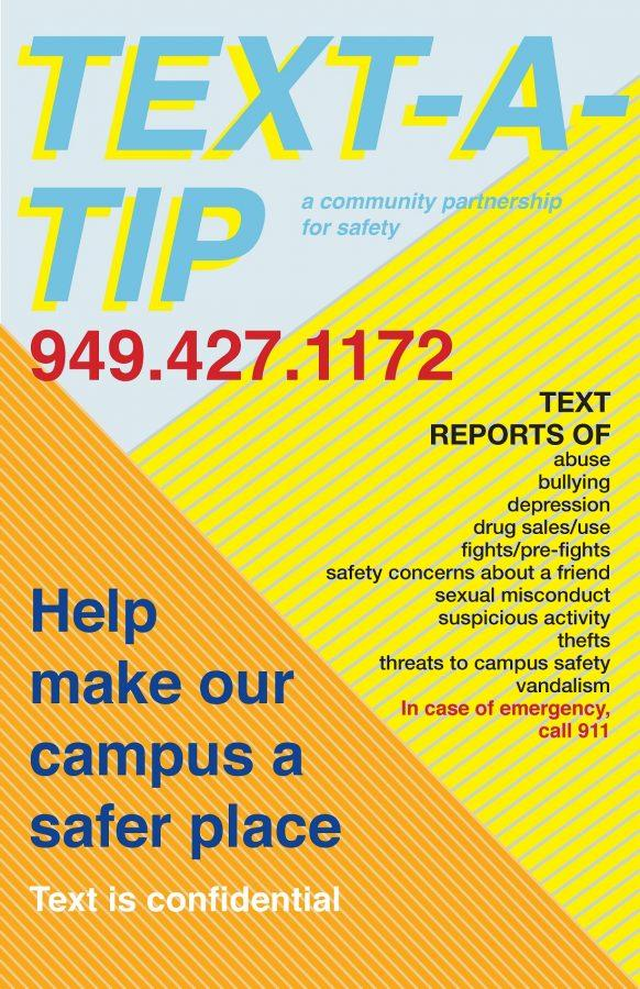 Administration sets up hotline number for anonymous student texts