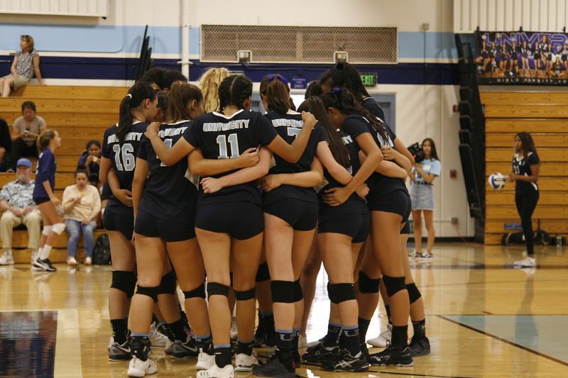 Girls Volleyball wins 3-2 against Marina High School