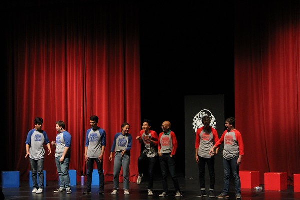 The Comedy Sportz veterans took to the stage last Friday (Julia So)