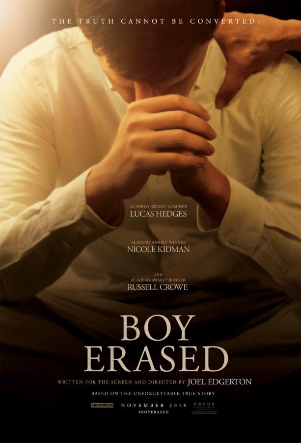 Boy Erased is a film based on a true story that has garnered much Oscar buzz and critical praise (Trailer Addict)