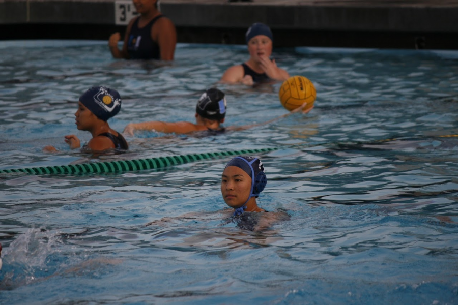 Girls Water Polo is victorious in first game of the season