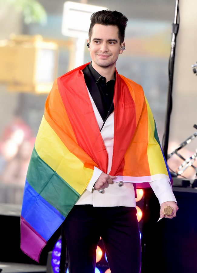 Brendon Urie, along with other major singers like Janelle Monáe, came out as pansexual this year (People)