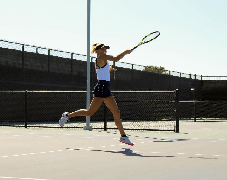 Girls Tennis vs Campbell