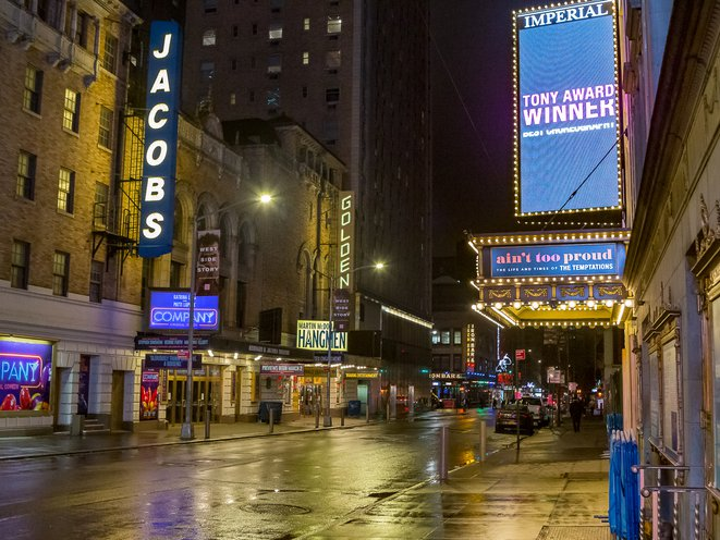 Broadway has announced that its shows will be closed until June 7, extended from April 12, due to coronavirus (NYTimes).