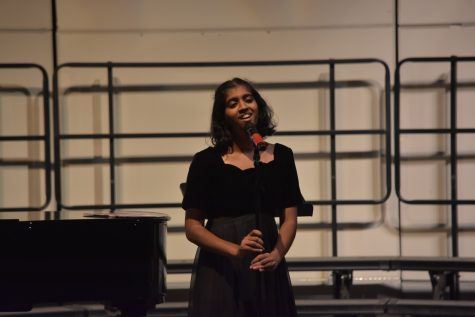 Meghana Krishnan has received leadership roles in the UHS choir program and extracurricular singing opportunities abroad. (Claire Ke).