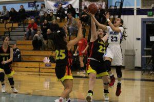 Girls Basketball Falls to Woodbridge