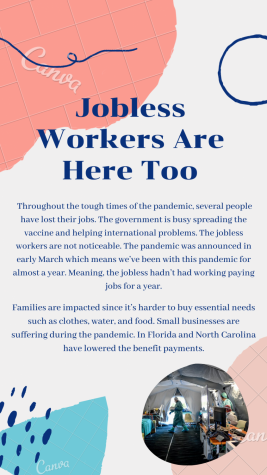 Beginning Journalism Project - Jobless Workers Are Here Too