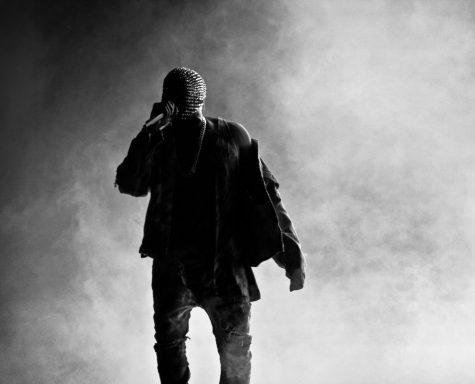Artist Kanye West (pictured above) has donned masks while performing since 2013
