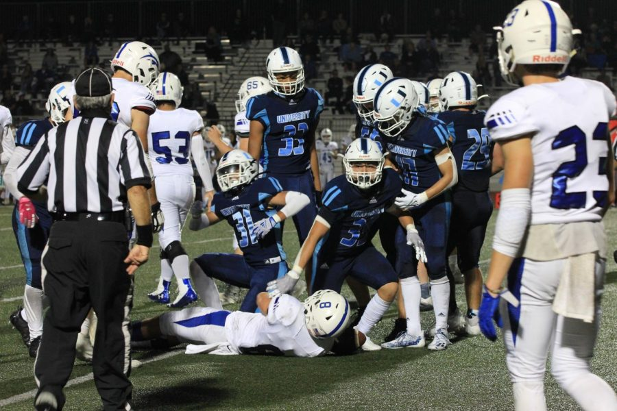 Boys Football Faces Defeat Against Dana Hills in Homecoming Game